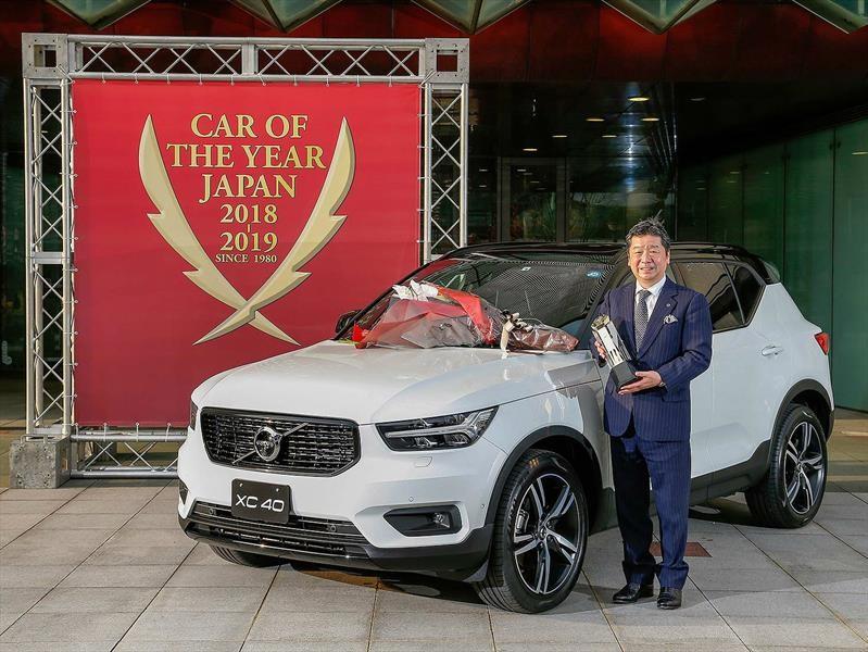 Volvo XC40, elegido como el mejor Auto del Año en Japón
