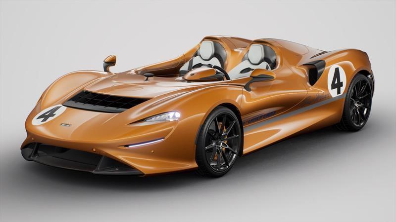 McLaren rinde homenaje al deporte motor con este Elva M6A