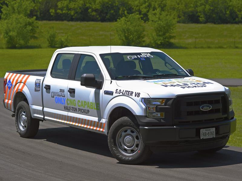 Ford Lobo 2016 Con Conversion A Gas Natural Disponible En Ee Uu