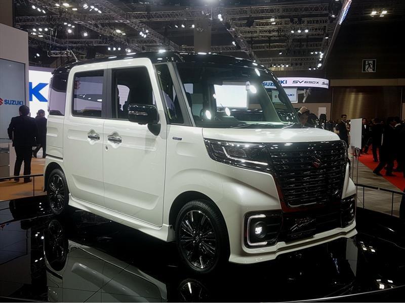Suzuki Spacia Concept y Spacia Custom Concept debutan