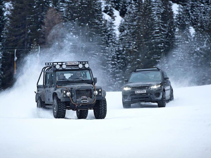Con Jaguar Land Rover puedes ser 007 por el rato