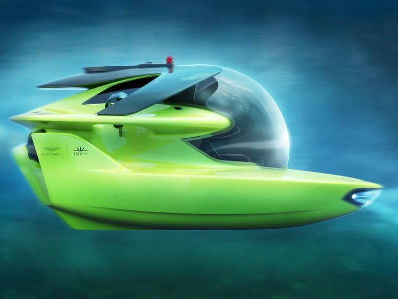 Aston Martin empieza a fabricar su primer submarino