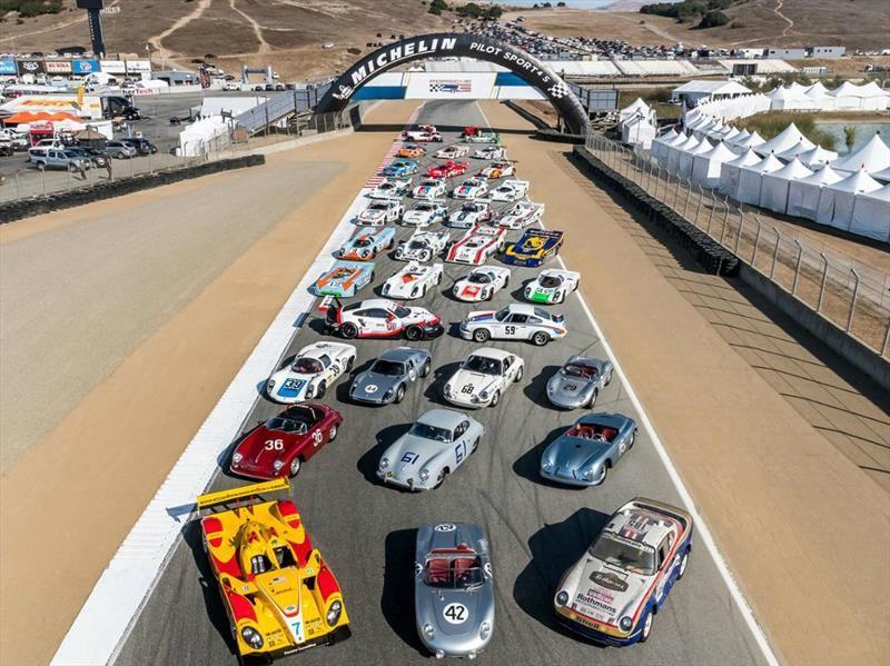 Porsche Rennsport Reunion VI rompe récord de asistencia