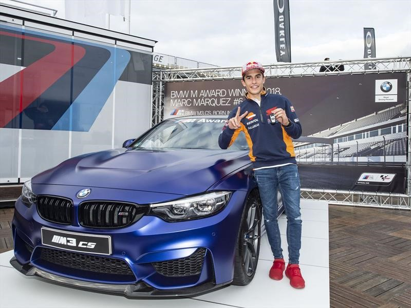 Marc Márquez es el motociclista de los seis BMW M