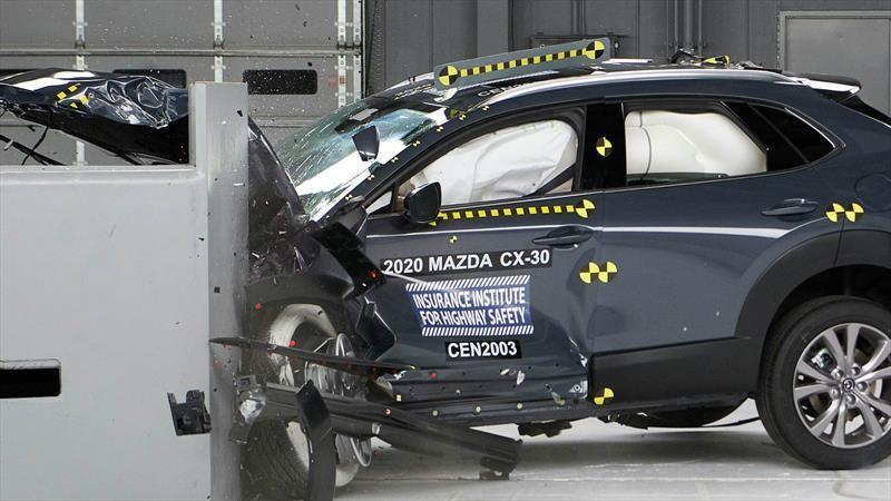 Mazda CX-30 obtiene el Top Safety Pick del IIHS