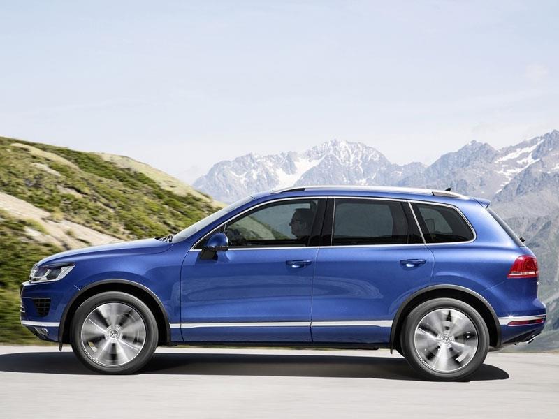 Volkswagen Touareg 2015 se renueva