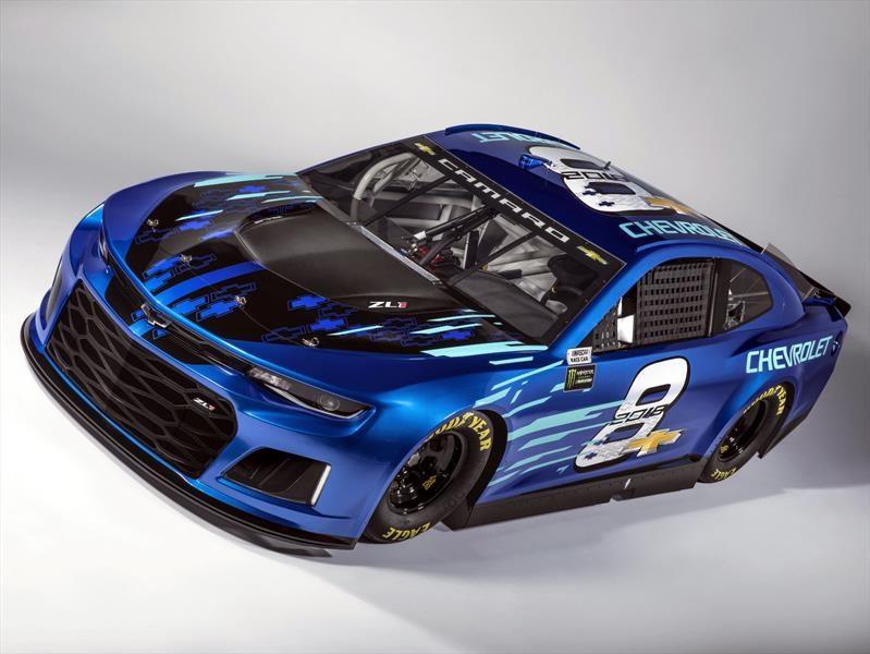Chevrolet Camaro ZL1 NASCAR Cup Race Car 2018, listo para competir
