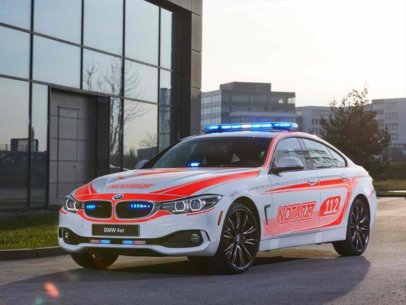 Los vehículos de emergencia de BMW para el RETTmobil 2017