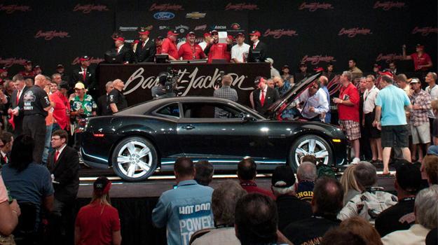 Chevrolet Camaro ZL1 2012 subastado en 250,000 dólares
