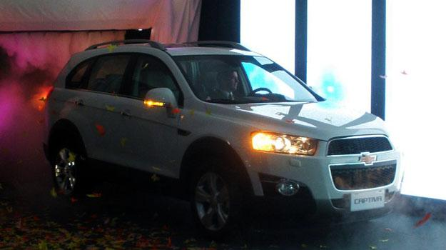 Chevrolet inicia la comercialización de la nueva Captiva