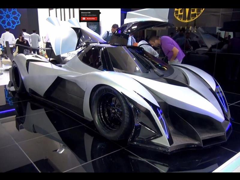 Devel Sixteen, el nuevo súper auto de 5,000 Hp