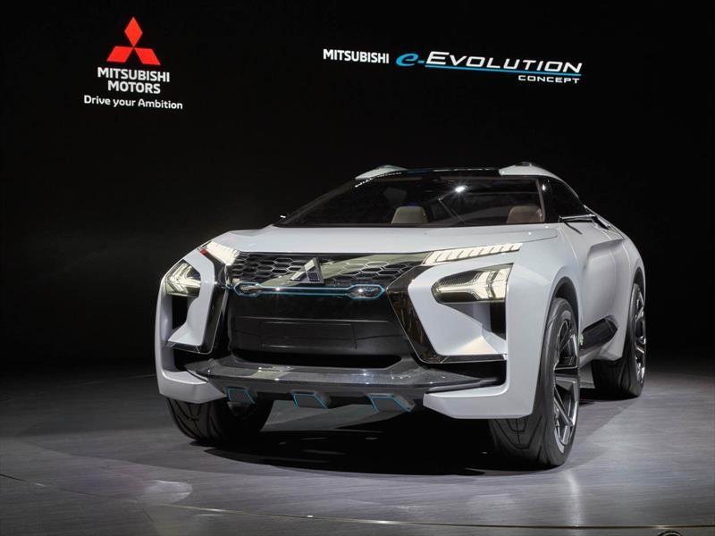 Mitsubishi e-Evolution Concept, un super SUV eléctrico