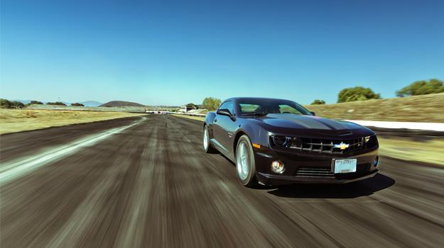 Chevrolet Camaro SS 45 aniversario 2012 a prueba