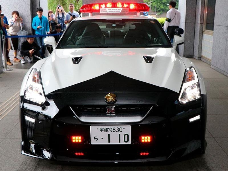 Nissan GT-R, el nuevo deportivo de la policía japonesa