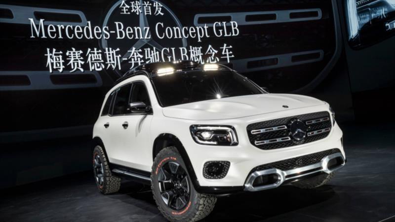 Mercedes-Benz GLB Concept, un SUV compacto de tres filas