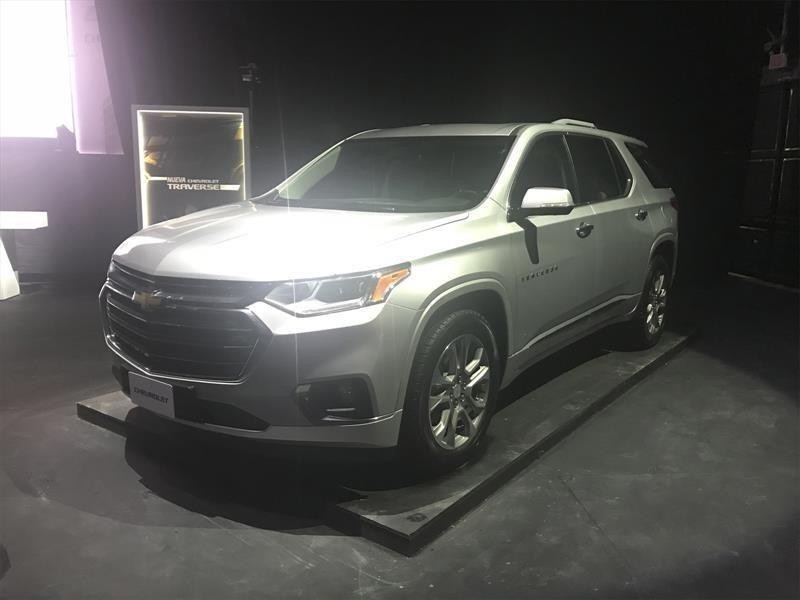 Chevrolet Traverse 2018, una SUV recargada con lujo y tecnología