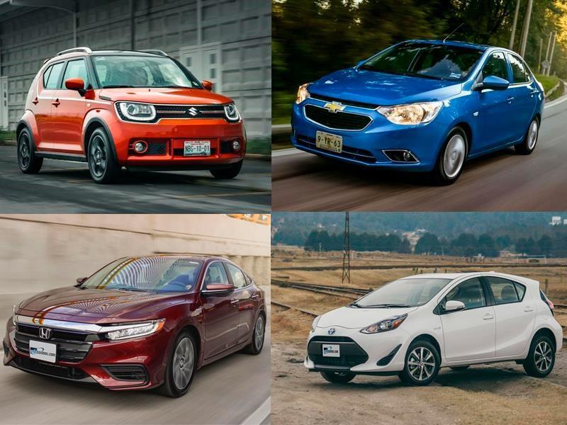 Los autos que consumen menos gasolina en México para 2019