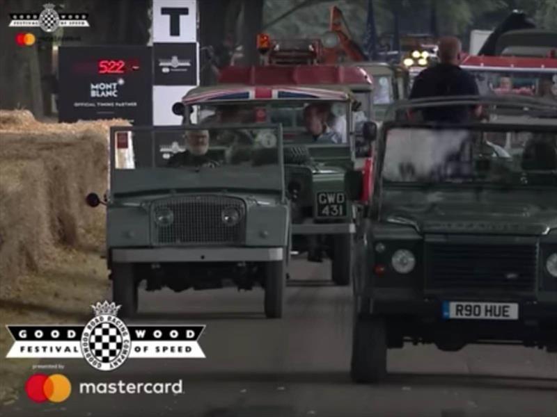 Goodwood 2018: así fue la caravana aniversario de Land Rover