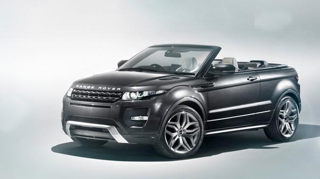 Range Rover Evoque Convertible Concept debuta en Ginebra