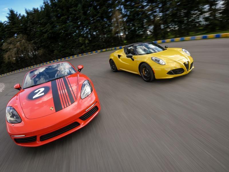 Porsche 718 Boxster Vs Alfa Romeo 4C Spider ¿cuál es mejor?