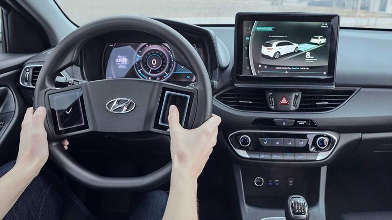 Hyundai visualiza cómo serán los interiores de sus futuros autos y SUVs