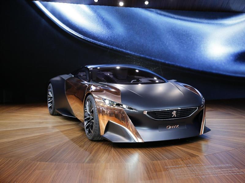 Salón de París 2012 - Peugeot Onyx Concept debuta en París