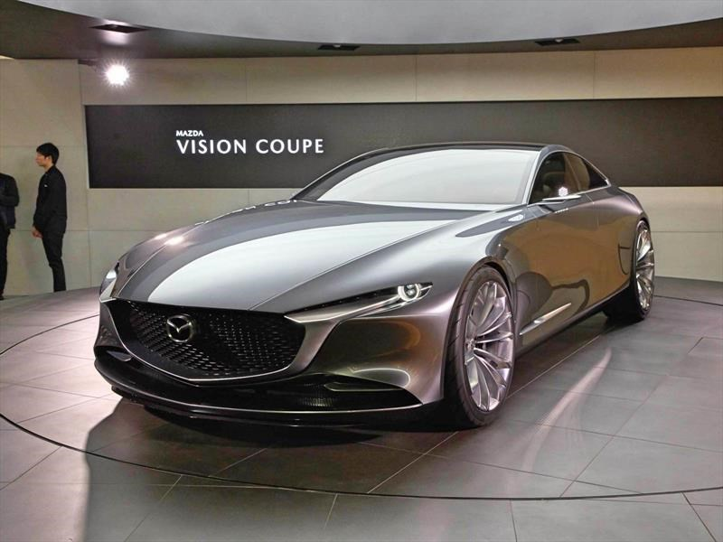 mazda vision coupe anticipando al mazda 6. Black Bedroom Furniture Sets. Home Design Ideas