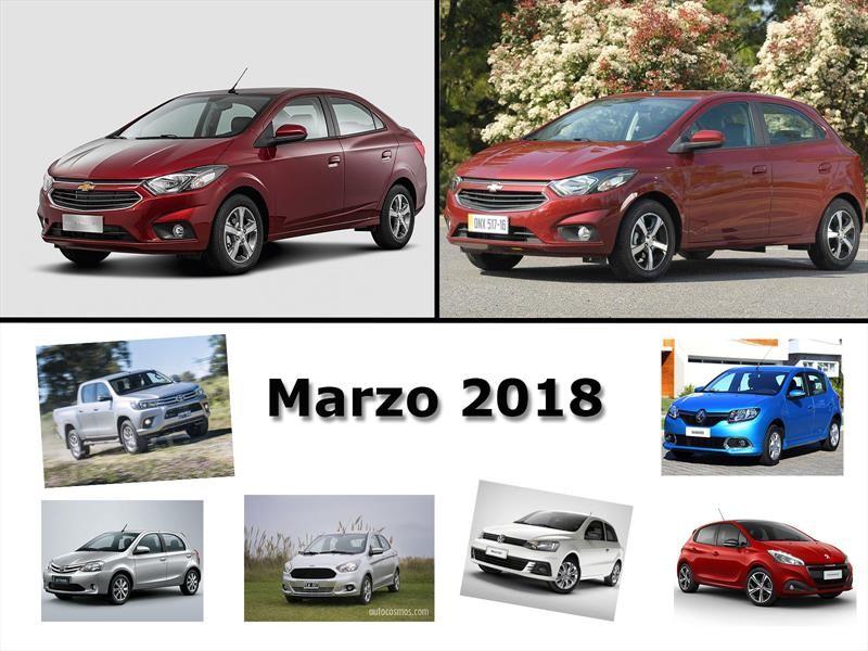 Los 10 autos mas vendidos de Argentina en marzo de 2018