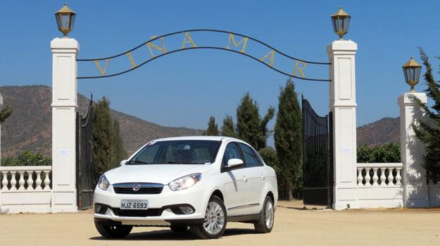 Manejamos el FIAT Grand Siena en Chile