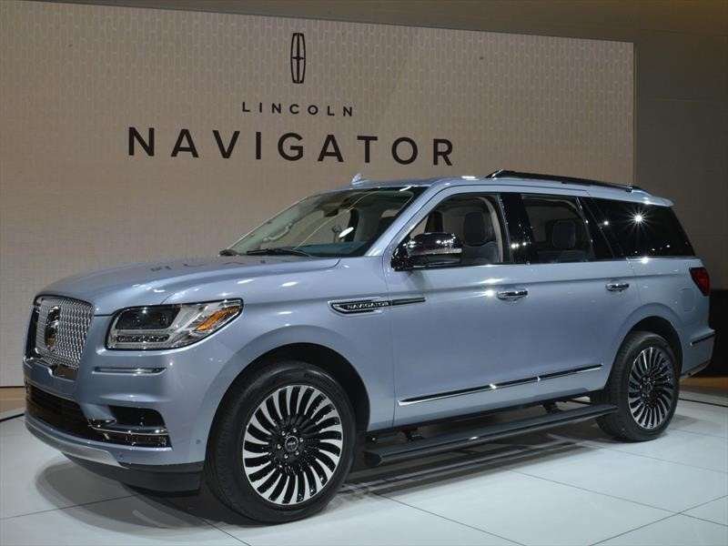Lincoln Navigator es el North American Truck of the Year 2018