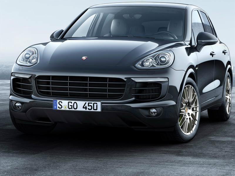 Porsche Cayenne Platinum Edition, disponible en versión Diesel y Hybrid