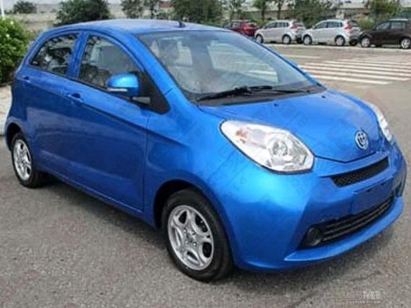 Brilliance lanza un carro que se llama CaCa