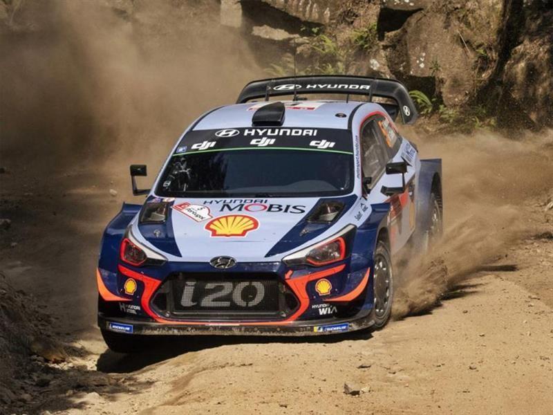 WRC Portugal 2018: Neuville y Hyundai a la cabeza