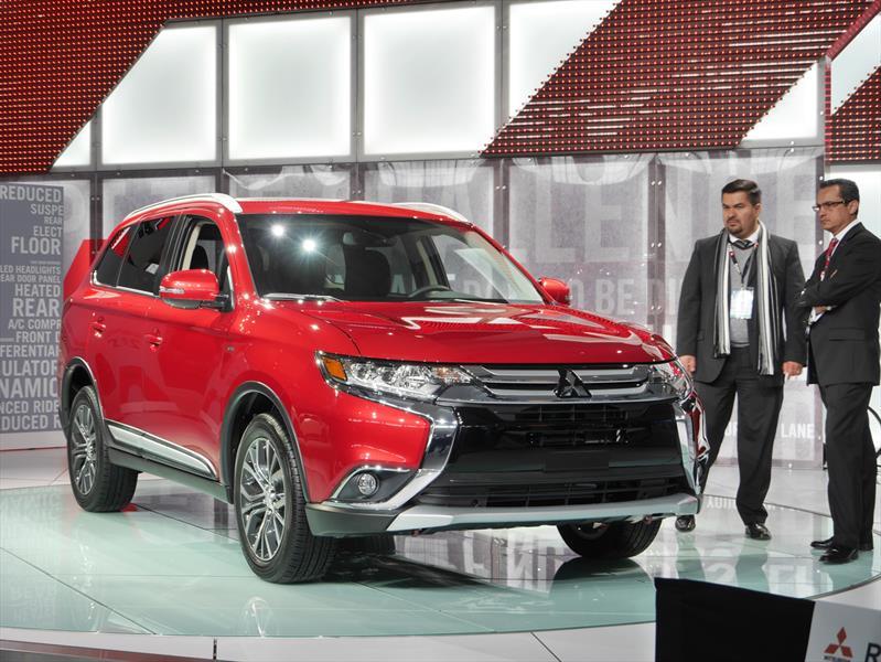 Mitsubishi Outlander 2016 debuta