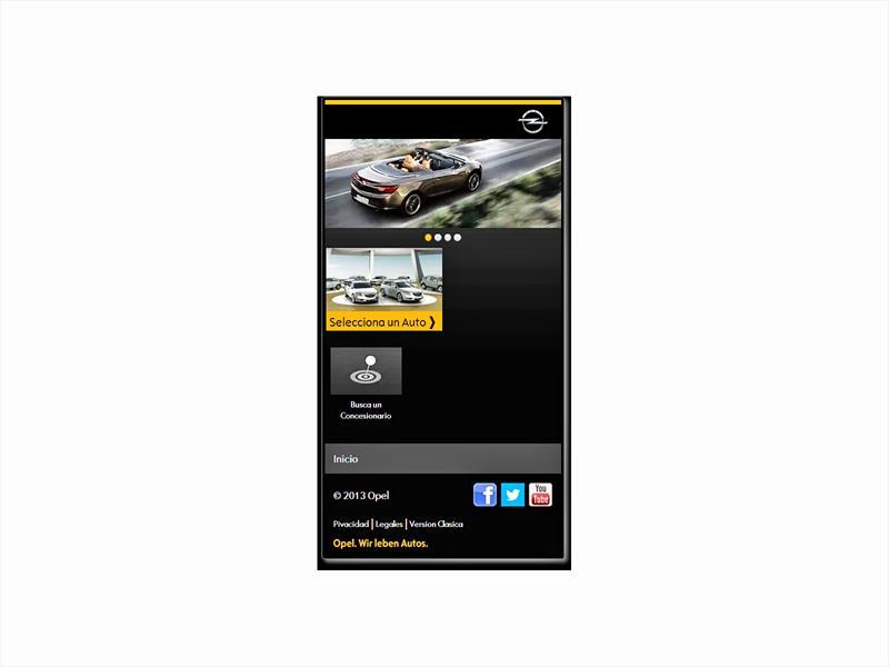 Opel Chile lanza nuevo sitio web para móviles