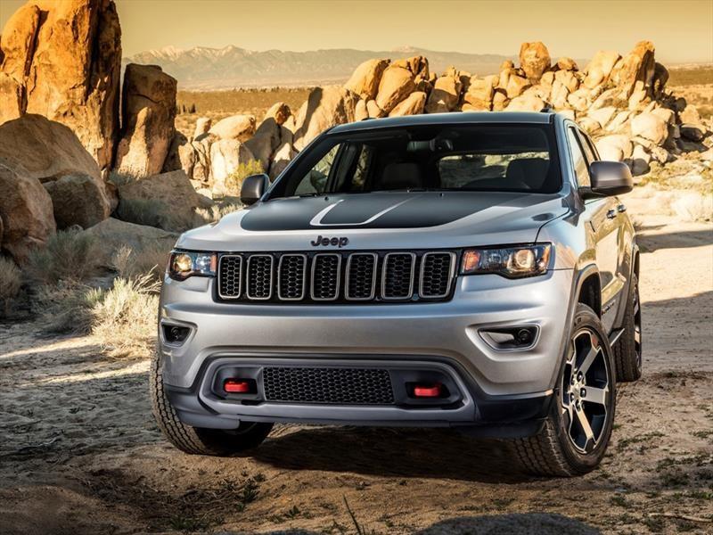 Jeep Grand Cherokee Trailhawk 2018 se presenta