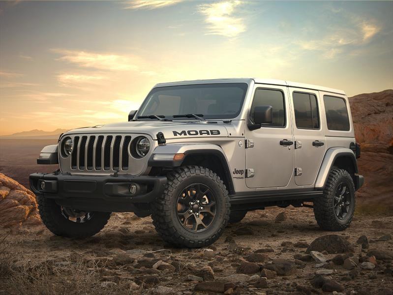 Jeep presenta en sociedad el Wrangler Moab Edition 2018