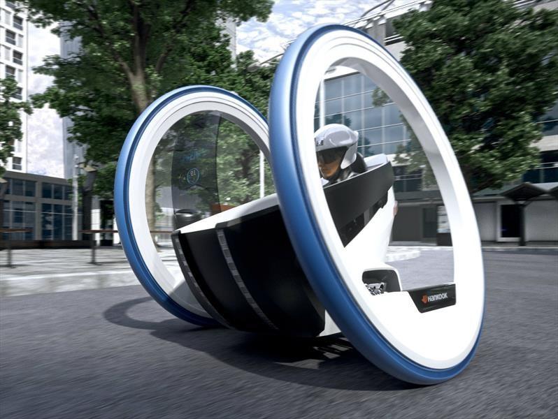 Así serán los neumáticos en el futuro según Hankook