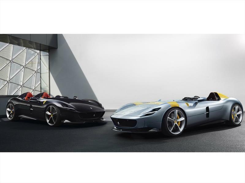 Ferrari Monza SP1 y Monza SP2, dos súper autos que reúnen lo mejor del pasado y presente