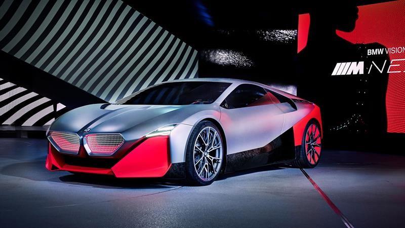 BMW Vision M NEXT es auto deportivo híbrido de 600 hp