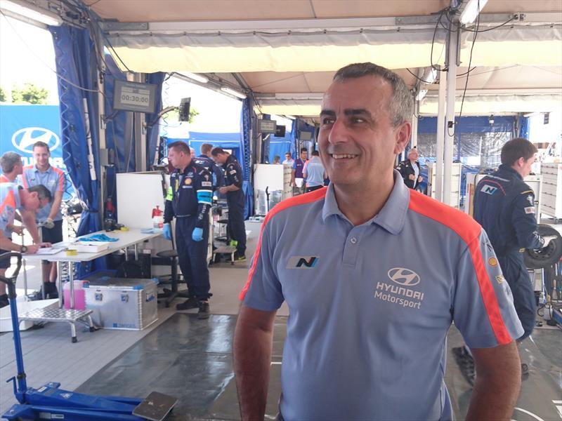 Alain Penasse, Director del Hyundai Motorsport. Entrevista Exclusiva.