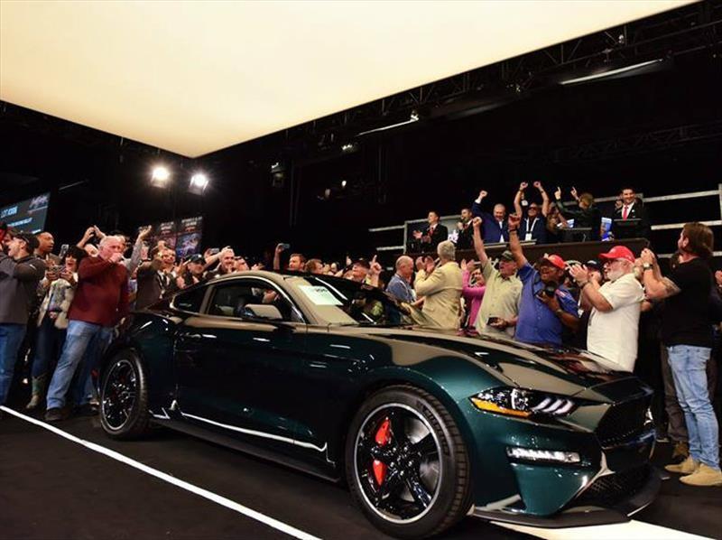 Ford Mustang Bullitt se subastó en Detroit