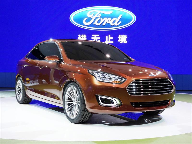 Ford Escort 2015, el sedán resucita en China