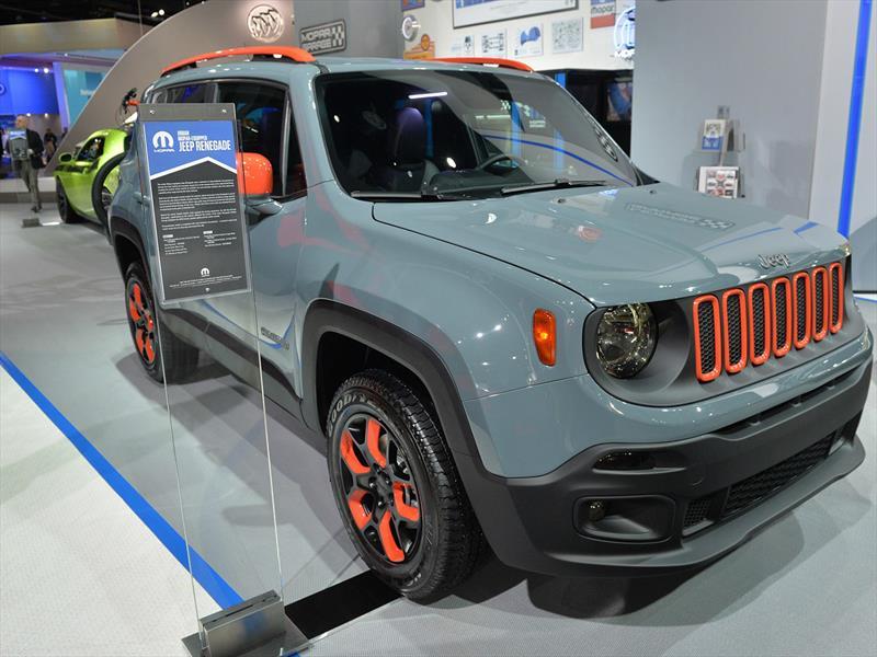 Jeep Renegade By Mopar en el Salón de Detroit