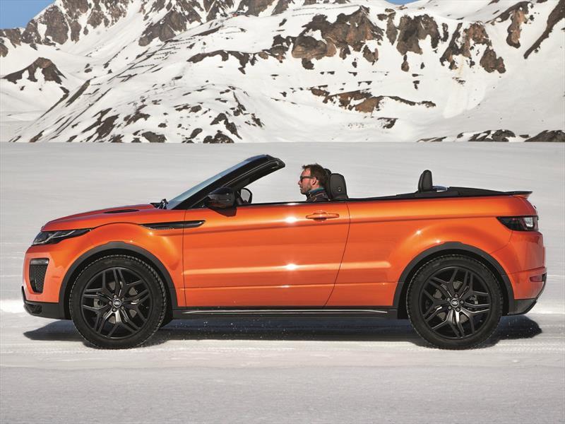 Range Rover Evoque Convertible se presenta el primer SUV descapotable de lujo