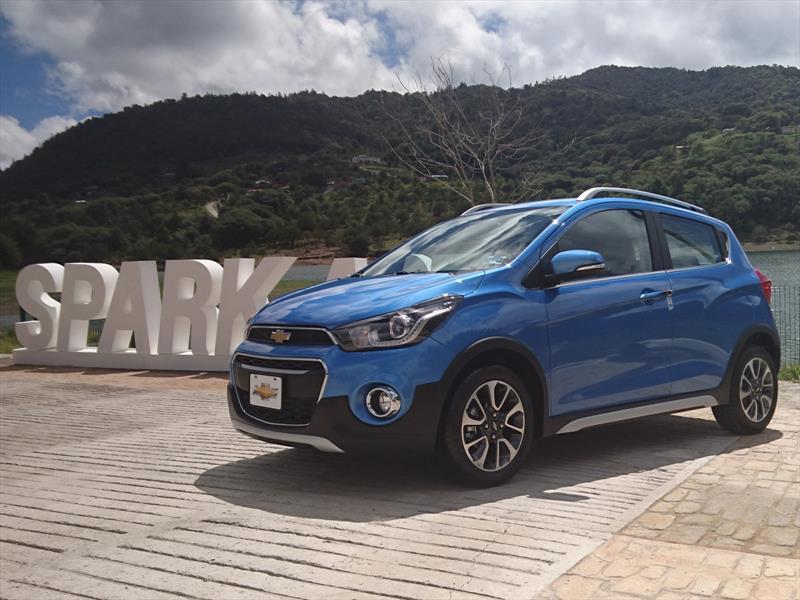 Chevrolet Spark Activ 2017 llega a México en $214,900 pesos