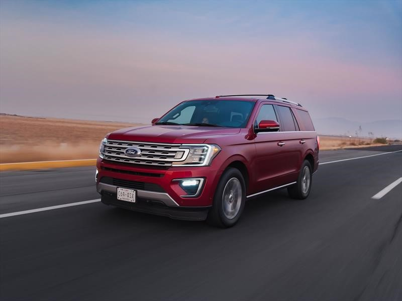 Manejamos la Ford Expedition 2018