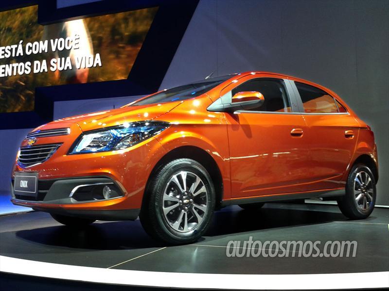 Chevrolet Onix se presenta en el Salón de Sao Paulo