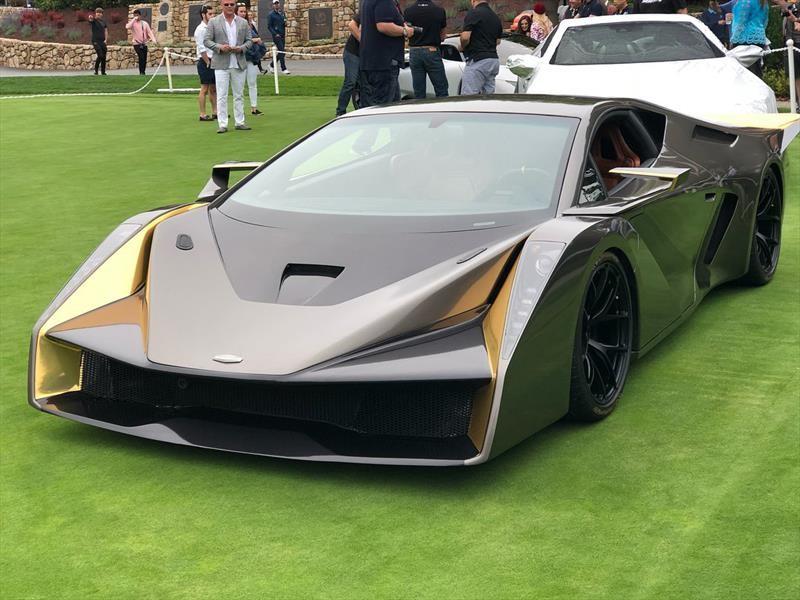 Salaff C2 toma como base al Lamborghini Gallardo