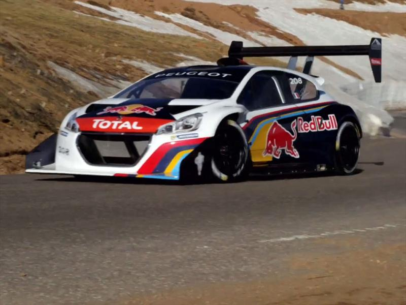 Peugeot 208 T16 Pikes Peak presente en el Goodwood Festival of Speed 2013
